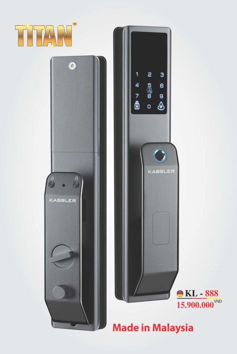 khóa vân tay kassler KL-888